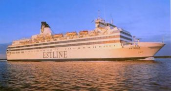 One of Estonia's first days in Tallinn, 1993.